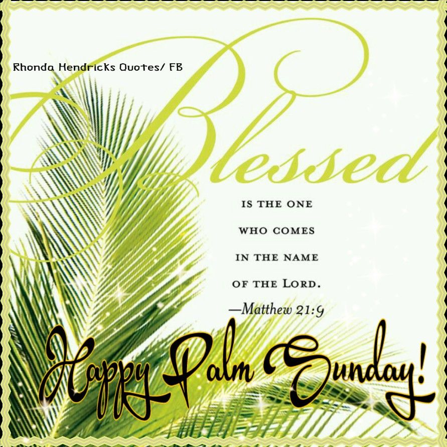blessed happy palm sunday pictures, photos, and images for facebook