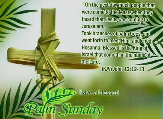 palm sunday inspirational quotes