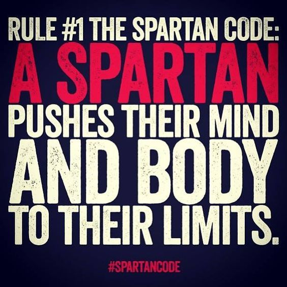 how to get a spartan body