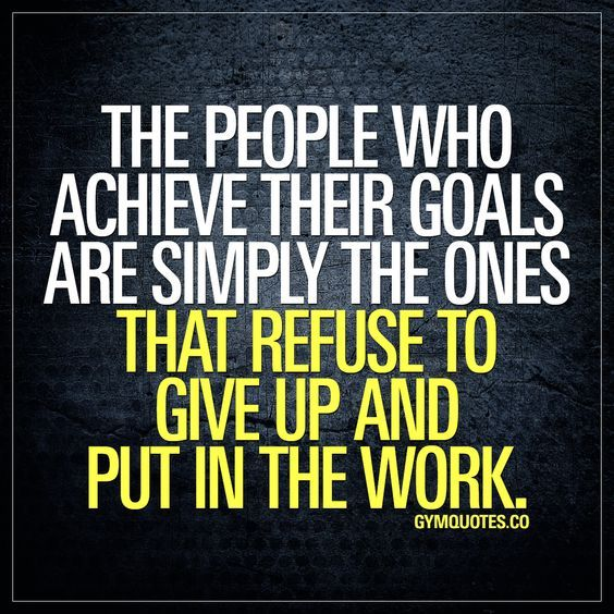 Achieving Goals Quotes: The People Who Achieve Their Goals Are Simply The Ones