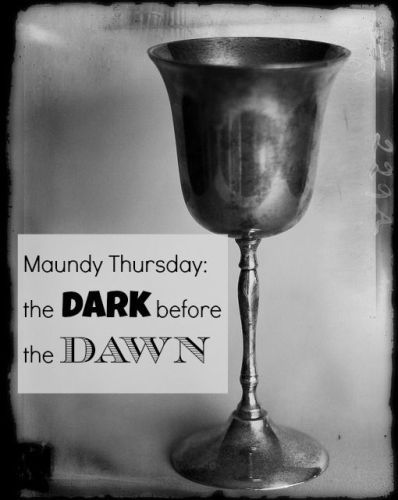Maundy Thursday The Dark Before The Dawn Pictures Photos