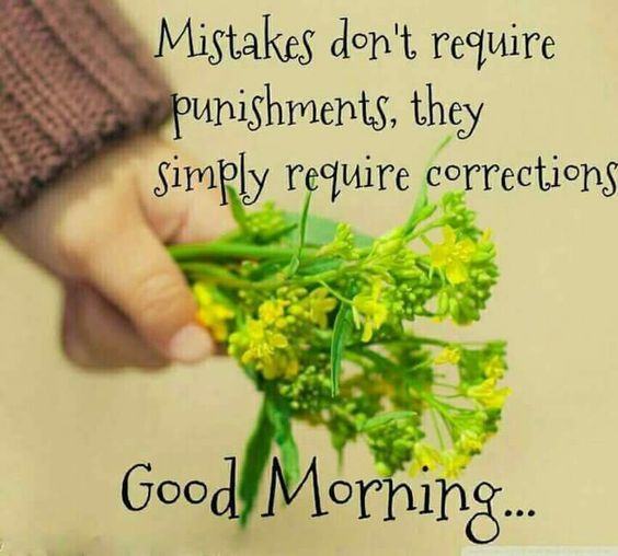 Mistake Good Morning Quote
