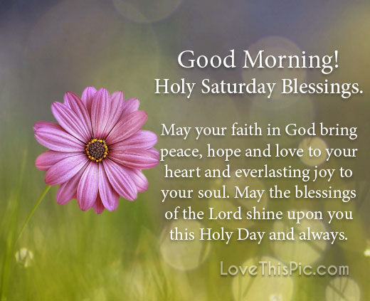 Holy saturday blessings pictures photos and images for - Holy saturday images and quotes ...