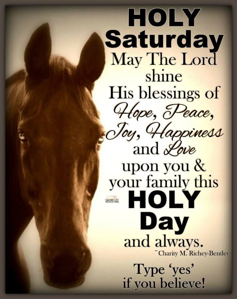 Holy saturday blessings for you and your family pictures - Holy saturday images and quotes ...