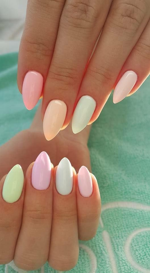 Mini Stiletto Pastel Nails Pictures, Photos, and Images for Facebook ...