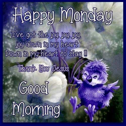 Joy Happy Monday, Good Morning Pictures, Photos, and ...