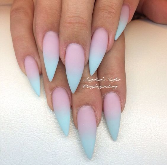 Aqua Ombre Nails Pictures, Photos, and Images for Facebook, Tumblr ...