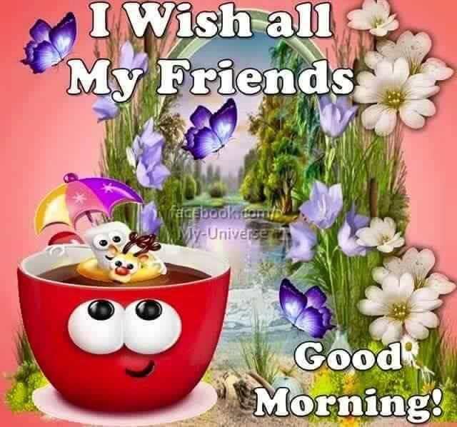 I Wish All My Friends A Good Morning Pictures, Photos, and ...