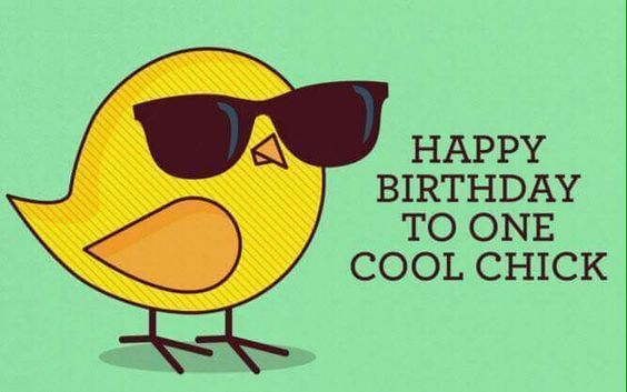 to one cool chick happy birthday pictures photos and images for