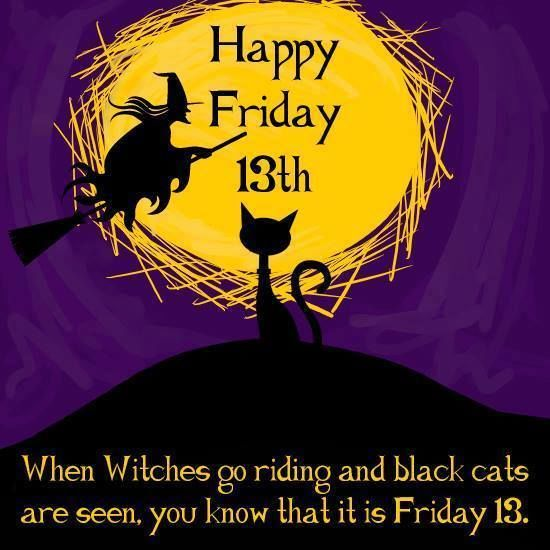 Happy Friday The 13th Quote With Image Pictures, Photos ...  Friday The 13th Quotes For Facebook