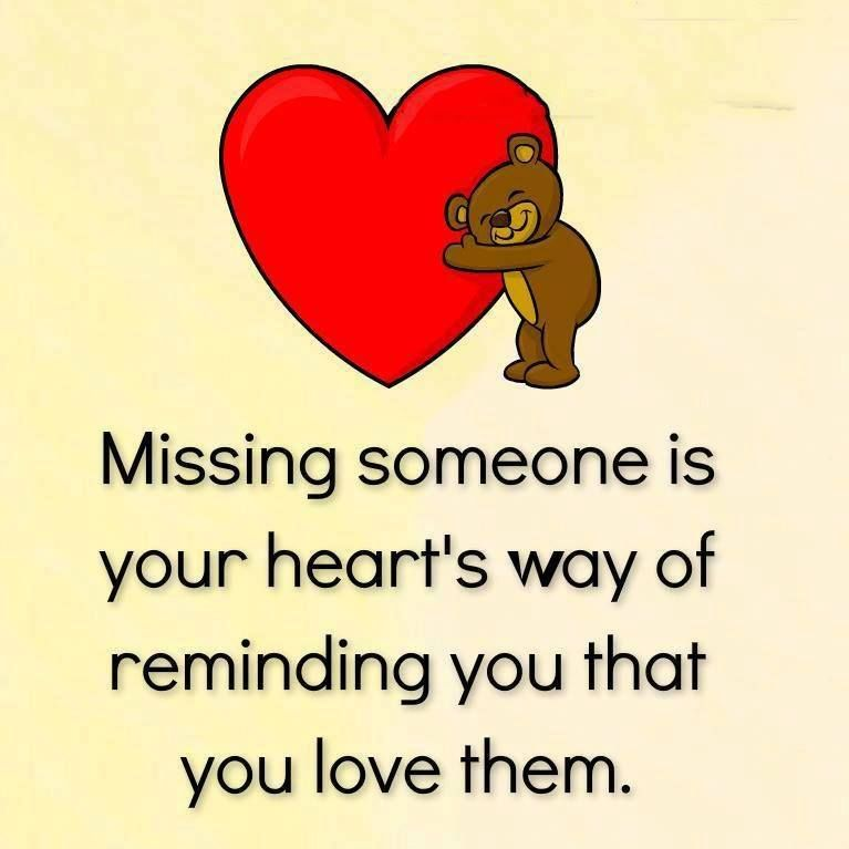 Missing Someone At Christmas Quotes: Missing Someone Is Your Heart's Way Of Reminding You That