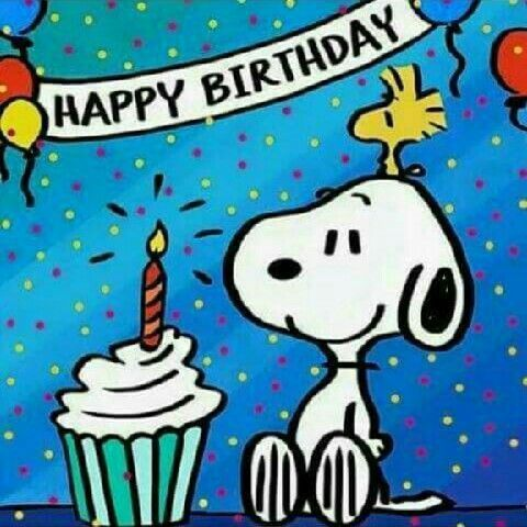 Snoopy Woodstock Happy Birthday Image Pictures Photos and Images