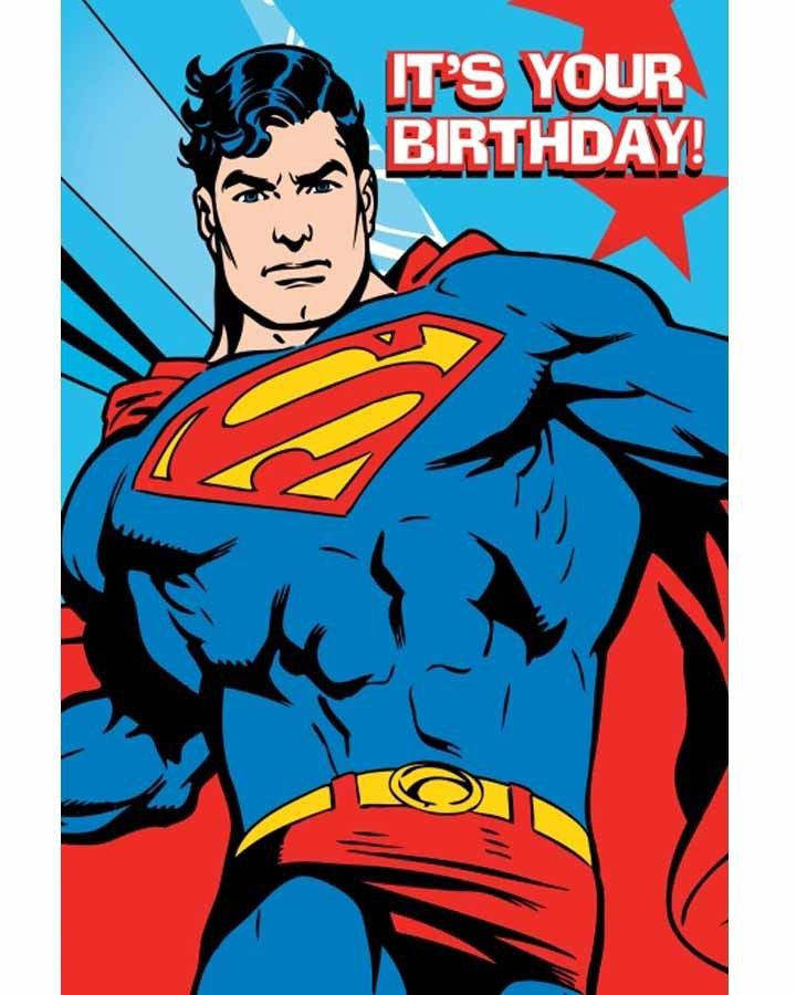 Free Comic Book Day Postcard: Superman It's Your Birthday Pictures, Photos, And Images