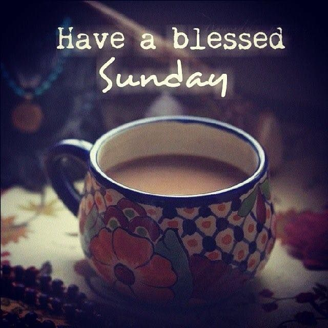 Blessed Sunday Coffee Pictures Photos And Images For