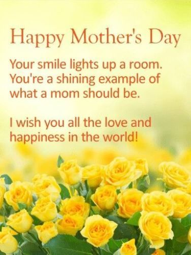 i wish you all the love and happiness in the world happy mothers day