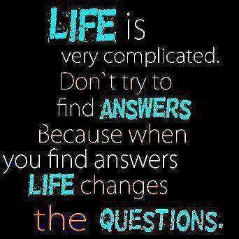 Good Funny Quotes About Life And Love : Life Is Complicated Pictures, Photos, and Images for Facebook, Tumblr ...