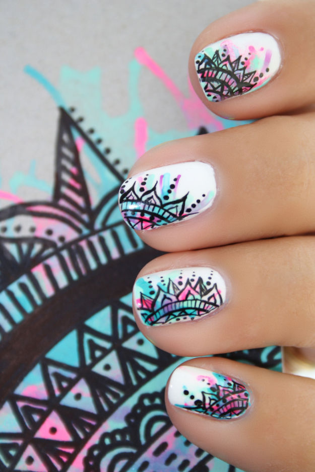 Indian Inspired Nail Art Pictures, Photos, and Images for Facebook ...