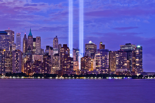 Inspiring Quotes For Friends Twin Towers Lights Pic...