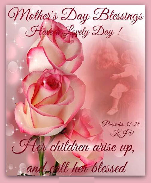Happy Mother S Day Religious Quotes: Religious Mothers Day Blessings Quote Pictures, Photos