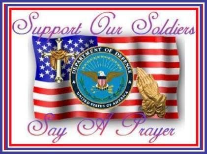 Support Our Soldiers, Say A Prayer Pictures, Photos, and Images...