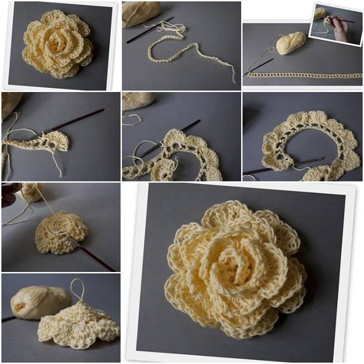 DIY Crochet Flower Pictures Photos And Images For