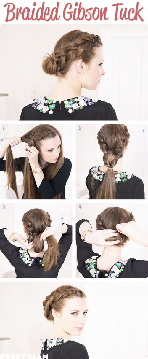 Diy Braided Gibson Tuck Pictures Photos And Images For