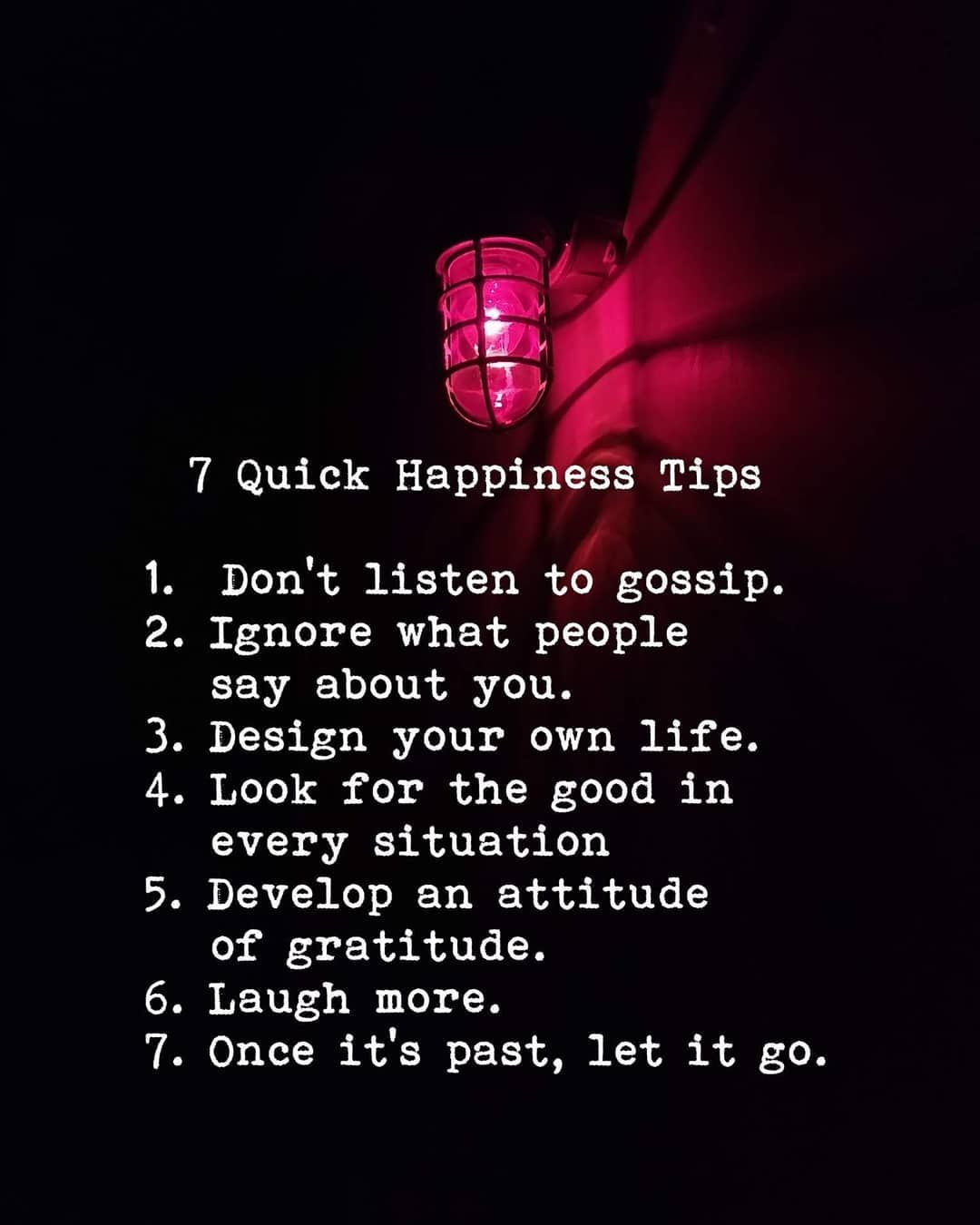 7 Quick Happiness Tips Pictures, Photos, and Images for Facebook, Tumblr,  Pinterest, and Twitter