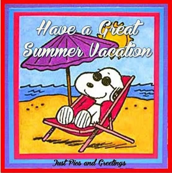 Snoopy Summer Vacation Image Pictures, Photos, and Images for Facebook,  Tumblr, Pinterest, and Twitter