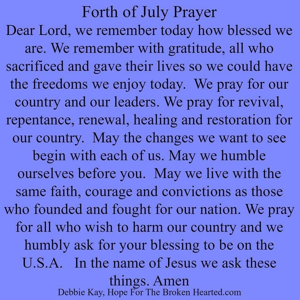 Fourth Of July Prayer Pictures, Photos, and Images for ...