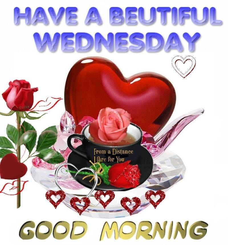 Beautiful Good Morning Wedneday Pictures, Photos, and