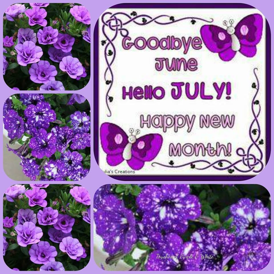 Happy New Month Goodbye June Hello July Pictures Photos