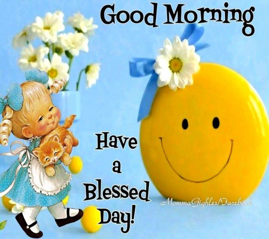 Good morning smileys