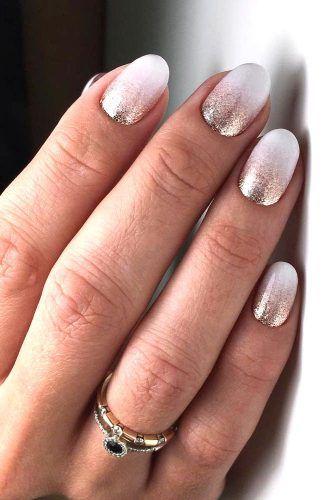 Glitter Ombre Nails Design
