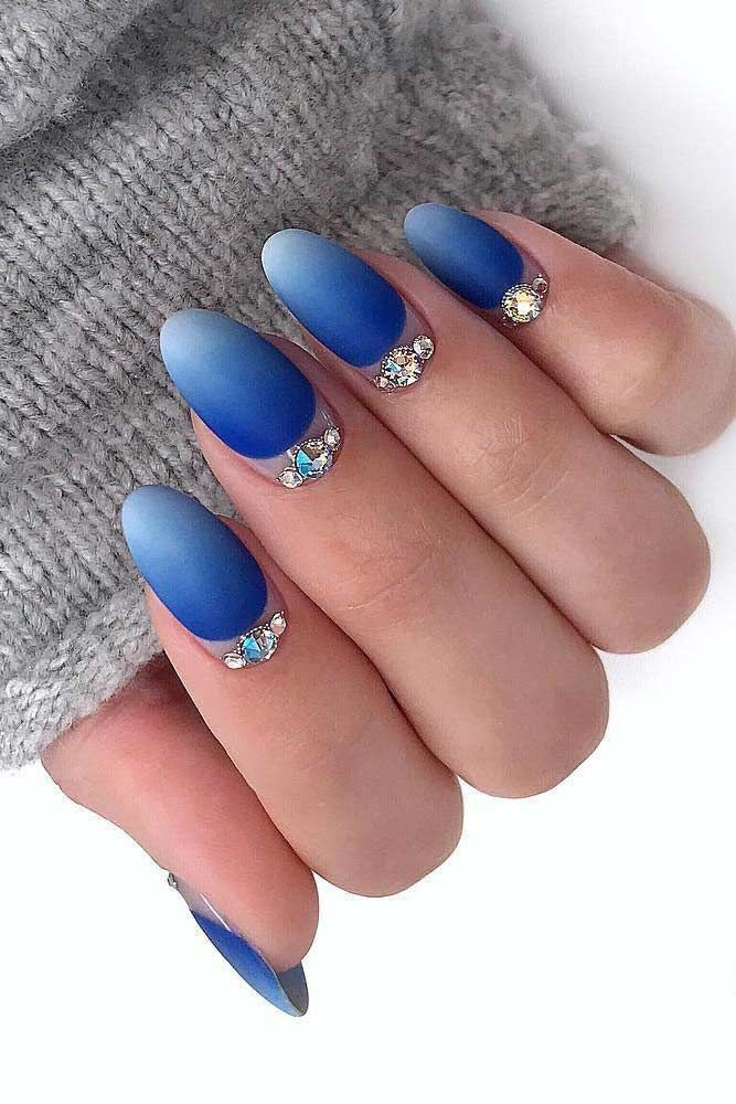 Bright Blue Ombre Nails Pictures Photos And Images For Facebook Tumblr Pinterest And Twitter