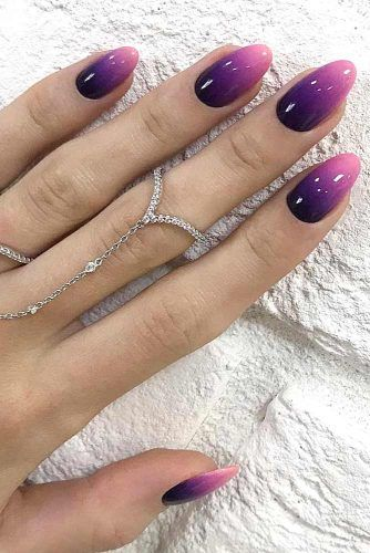 Purple Ombre Nails Pictures Photos And Images For Facebook Tumblr Pinterest And Twitter