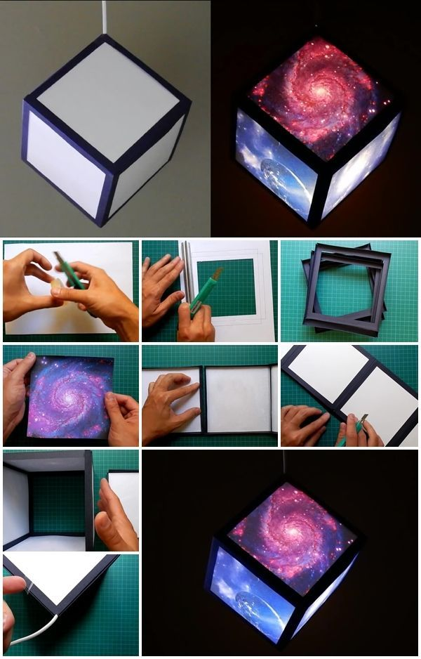DIY Galaxy Lamp Pictures, Photos, and Images for Facebook