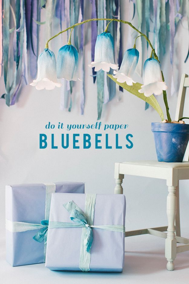 Paper flower bells pictures photos and images for facebook tumblr paper flower bells mightylinksfo