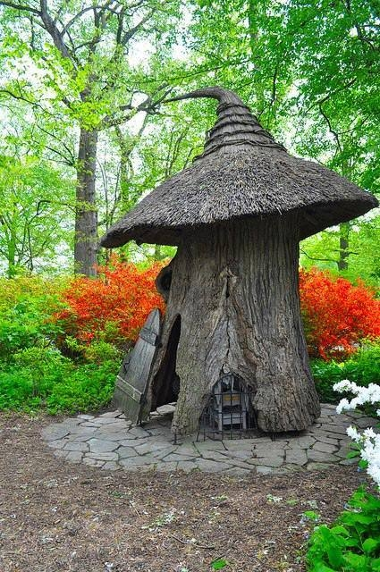Tree Fairy House Pictures, Photos, and Images for Facebook