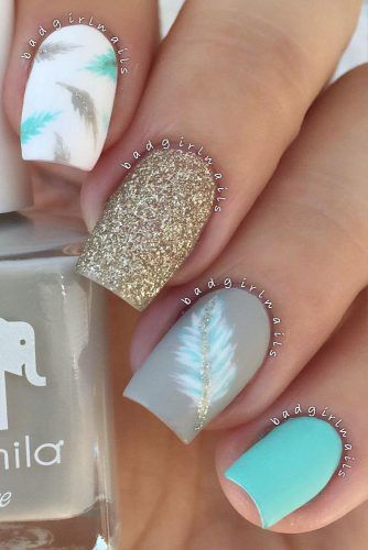 Matte Feather Nail Art Pictures Photos And Images For Facebook