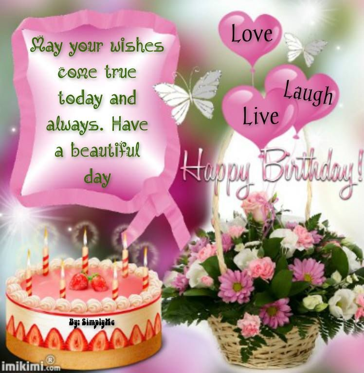Love Laugh Live Happy Birthday Pictures Photos And Images For