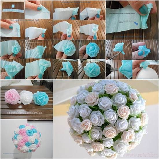 Crepe Paper Flower Ball Pictures Photos And Images For Facebook