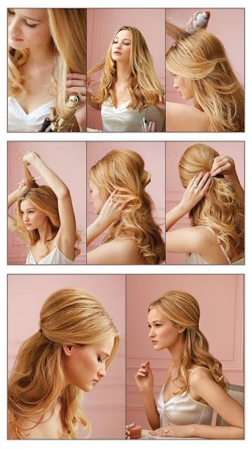 DIY Simple Pretty Hair Style Pictures Photos And Images For - Hairstyle diy tumblr