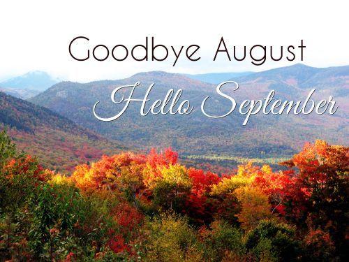 Good Forest Goodbye August, Hello September Image