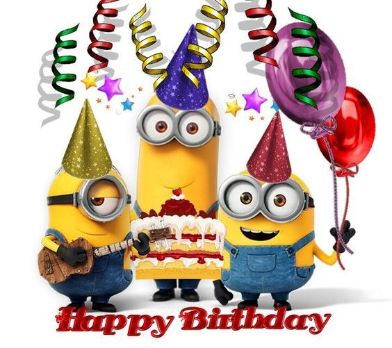 17 Best Images About Birthday Cards On Pinterest: Minion Happy Birthday Pictures, Photos, And Images For