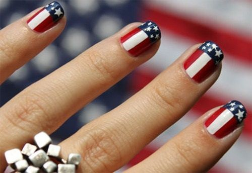 American Flag Nail Art - American Flag Nail Art Pictures, Photos, And Images For Facebook