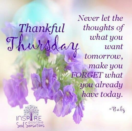 Inspiring Thankful Thursday Quote Pictures, Photos, and Images for ...
