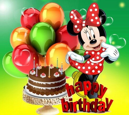Minnie Happy Birthday Image Pictures, Photos, And Images