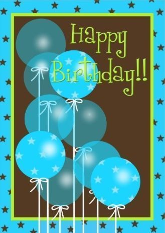 Teal Happy Birthday Balloons Pictures Photos And Images