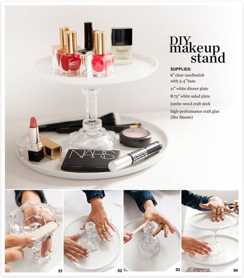 Makeup Stand Designs : Diy makeup stand pictures photos and images for facebook