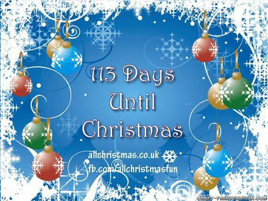 Days Till Christmas Uk.113 Days Until Christmas Pictures Photos And Images For